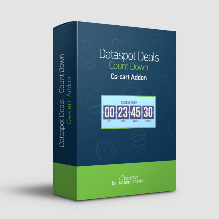 deals count down timer